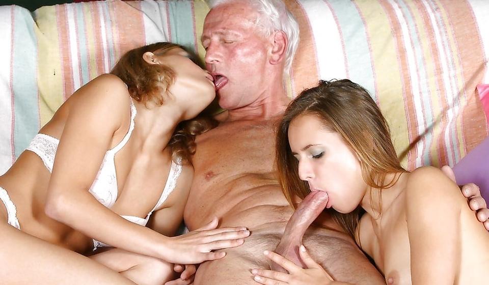 Opa, u hebt werkelijk een heerlijke penis!